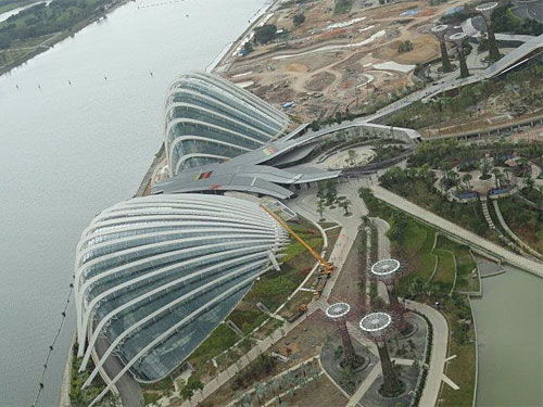 Gardens by the Bay. (Foto: Sören Peters)