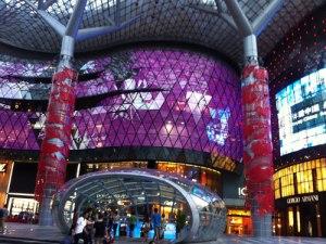 Einkaufszentrum an der Orchard Road. (Foto: spe)