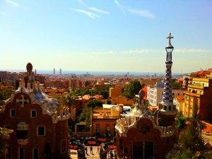 Überblick über die Stadt vom Parc Güell aus. (Foto: spe)