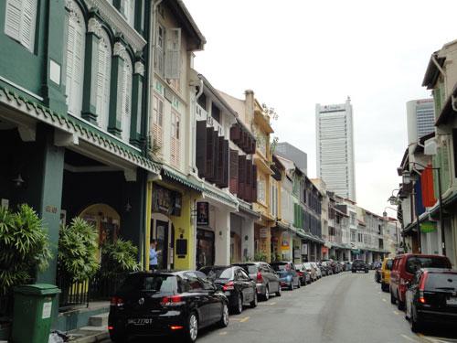 Kolonialhäuser in Chinatown. (Foto: spe)