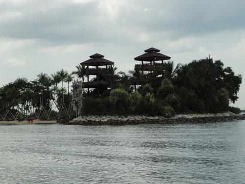 """Zum Abschluss: Der angeblich """"southernmost point of continental Asia"""". (Foto: spe)"""