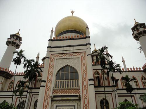 Sultanmoschee an der Arab Street. (Foto: spe)