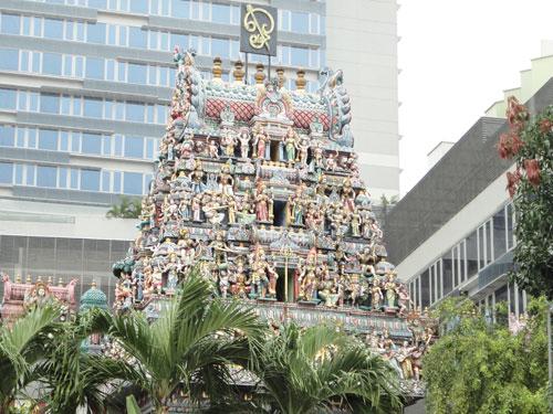 Tempel in Little India. (Foto: spe)