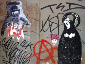 Streetart an der Ronda Sant Antoni. (Foto: Sören Peters)