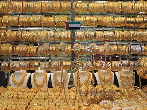 Hier befindet sich unter anderem der Gold-Souk, wo die Ware nach Gewicht verkauft wird. (Foto: Sören Peters)