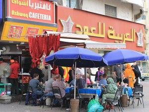 Kleines Restaurant in Deira. (Foto: Sören Peters)