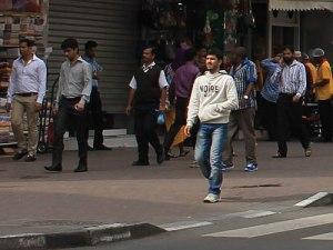 Straßenszene in Deira. (Foto: Sören Peters)
