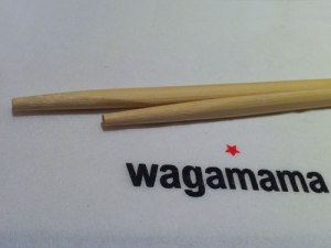 Schlicht und authentisch: Wagamama. (Foto: Sören Peters)