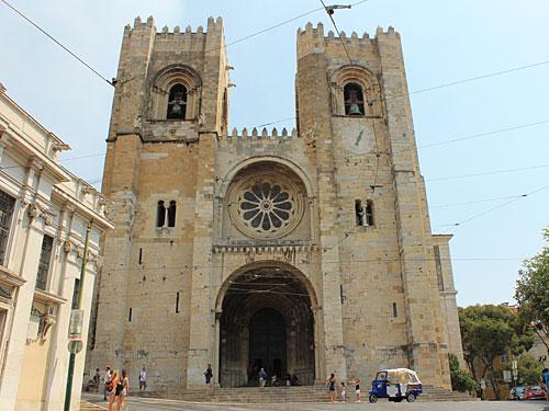 Die Catedral Sé Patriarcal ist die Hauptkirche von Lissabon. (Foto: Sören Peters)