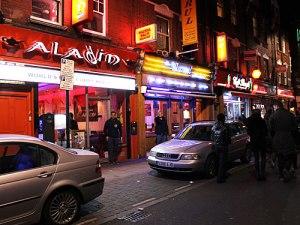 Restaurants an der Brick Lane. (Foto: Sören Peters)