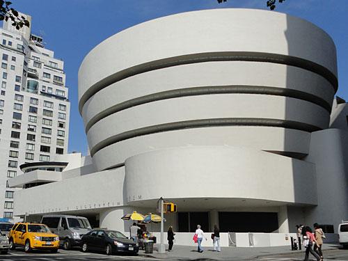 Kultur pur gibt es auf der anderen Seite des Central Park. Hier befinden sich das Guggenheim-Museum... (Foto: Sören Peters)