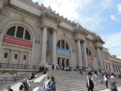 ...und das Metropolitan Museum of Art - kurz: Met. (Foto: Sören Peters)