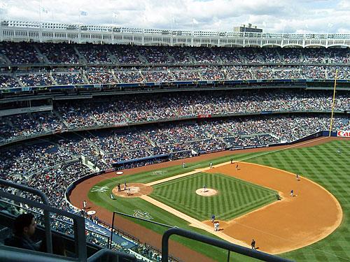 Ebenfalls außerhalb von Manhattan spielen die New York Yankees, das wohl berühmteste Baseball-Team der Welt. Ihr Stadion befindet sich in der Bronx. (Foto: Sören Peters)