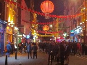 Stimmungsvolle Deko gibt es eigentlich nur zum chinesischen Neujahr Mitte/Ende Februar. (Foto: Sören Peters)