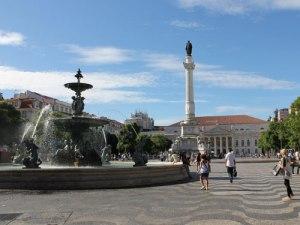 Rossio, bzw. Praça de Dom Pedro IV (Foto: Sören Peters)