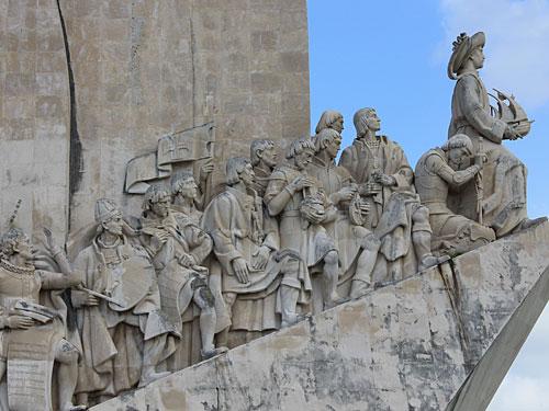 Entdeckerdenkmal in Belém. (Foto: Sören Peters)