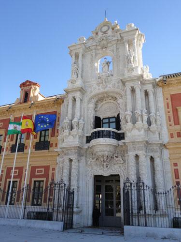 Verwaltungsgebäude. (Foto: spe)