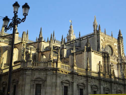 Rückansicht der Kathedrale. (Foto: spe)