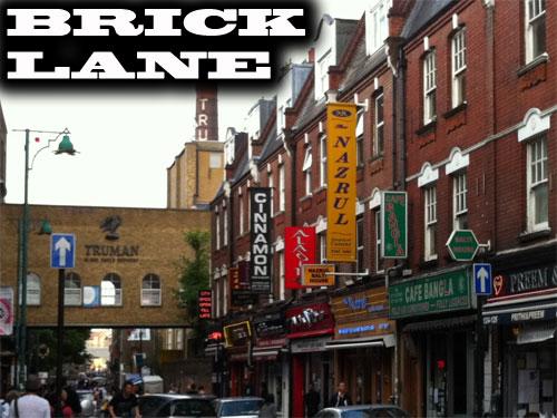 Eine der sechs Routen führt die Besucher zur Brick Lane. (Foto: spe)