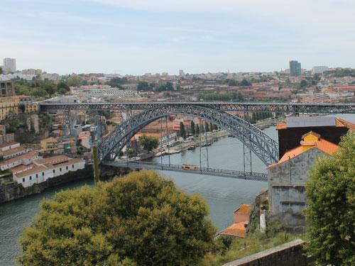 Der Douro mündet nur wenige Kilometer weiter in den Atlantik. (Foto: spe)