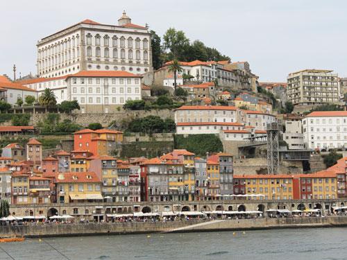 Blick von Gaia auf die Altstadt von Porto. (Foto: spe)