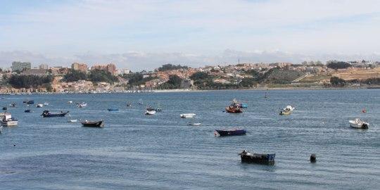 Boote auf dem Douro, unmittelbar an der Atlantik-Mündung. (Foto: spe)