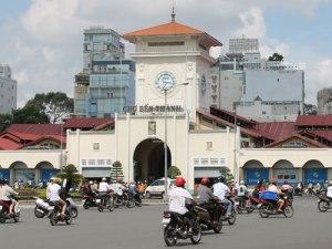Das Herzstück Saigons: Der Ben-Thanh-Markt. (Foto: spe)