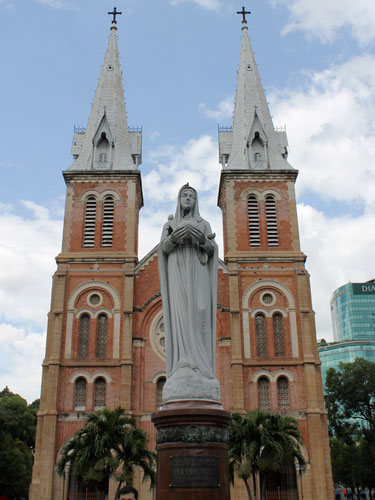 Französisches Erbe: Die Kathedrale Notre Dame. (Foto: spe)