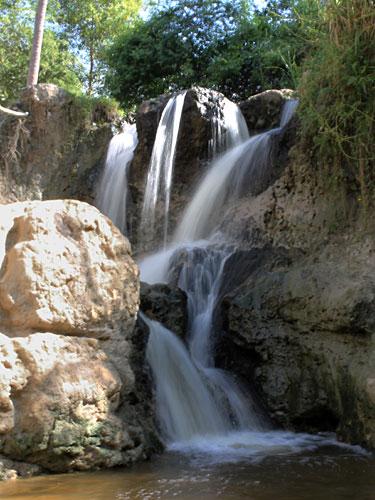 Am Ende des Fairy Trail befindet sich dieser Wasserfall. (Foto: spe)