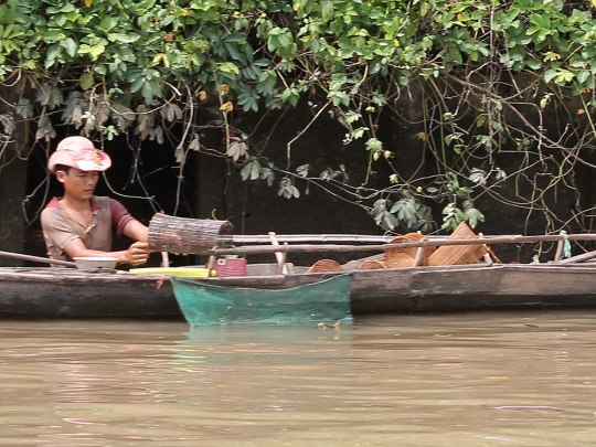 Lebensader Mekong - im Delta leben die Menschen am und mit dem Fluss. (Foto: Sören Peters)