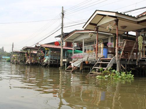 Dabei zeigt sich Bangkok von seiner ländlichen Seite. (Foto: spe)