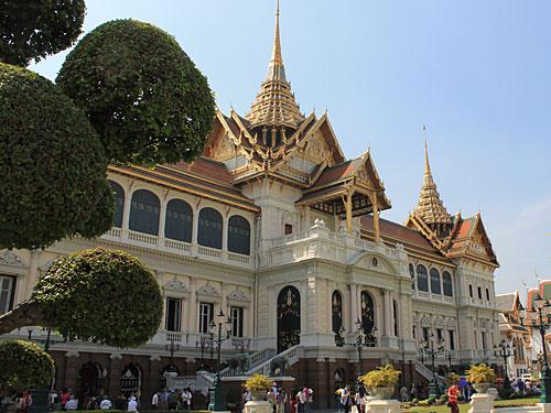 Auf dem Gelände befindet sich auch der Königspalast. (Foto: spe)