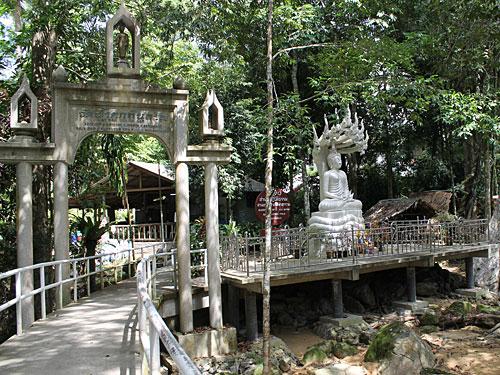 Etwa in der Nähe des Wat Hin Lat nahe der Inselhauptstadt Nathon. (Foto: spe)