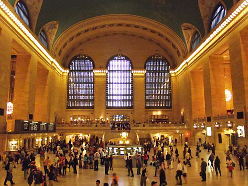 Die  Haupthalle der Grand Central Station. (Foto: JoeJoeJoe93/Creative Commons)