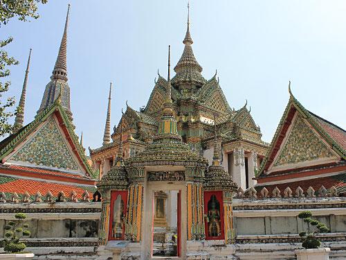 Auf dem Gelände des Wat Pho. (Foto: Sören Peters)