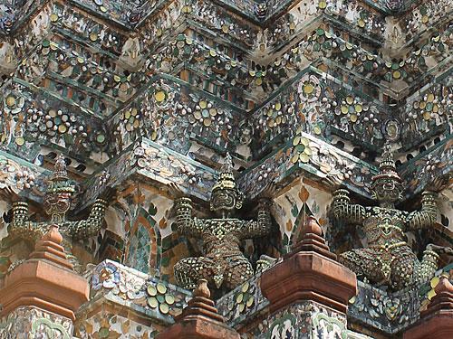 Detailansicht des Wat Arun. (Foto: Sören Peters)