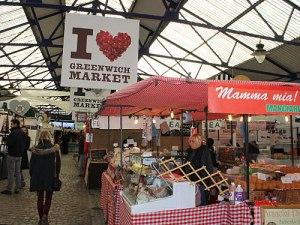 I love Greenwich Market - stimmt. (Foto: spe)