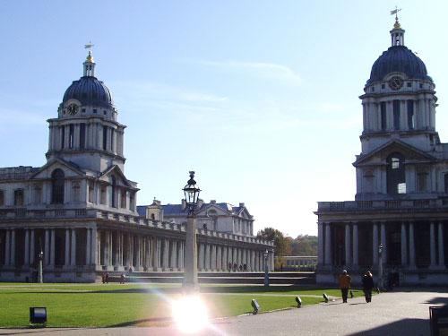 Das Royal Naval College zählt seit 1997 zum Weltkulturerbe der Unesco. (Foto: spe)