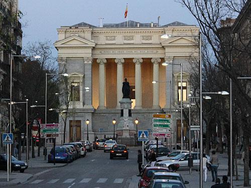 Auch das Cason del Buen Retiro gehört zum Museum. (Foto: spe)