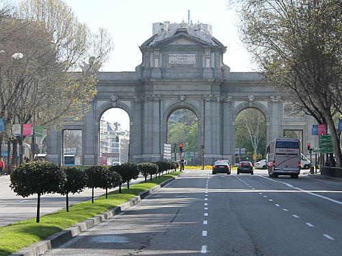 ...ehe wir die Puerta de Alcalá erblicken. (Foto: spe)