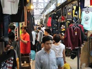 Im Innenbereich des Marktes. (Foto: Sören Peters)