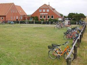 Beliebtes Ausflugsziel: Die Meierei am Ostende der Insel. (Foto: H.G. Graser/gemeinfrei, wikimedia commons)