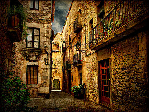 In den Straßen von Girona. (Foto: Toni Verdú Carbó via flickr.com)