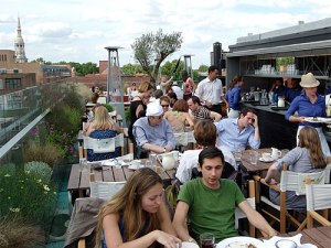 Die Boundary Rooftop Bar im Osten Londons. (Foto: Steve CX via flickr.com)