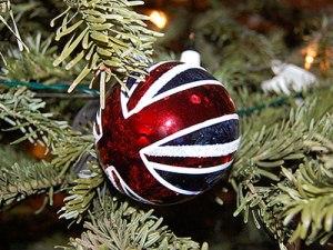 Christbaumkugeln mit Union-Jack-Motiv sind der Verkaufsschlager bei Selfridges. (Foto: Toby Bradbury via flickr.com)