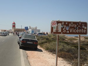 Zufahrt zum Cabo de São Vicente. (Foto: Sören Peters)