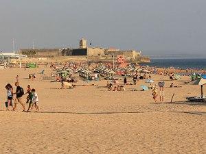 Forte de São Julião da Barra am Strand von Carcavelos. Premierminister Pedro Passos Coelho empfing hier sogar Bundeskanzlerin Angela Merkel. (Foto: spe)