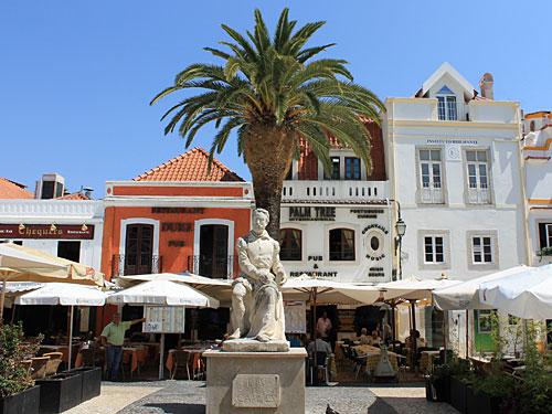 Cascais: Restaurants in der Altstadt. (Foto: spe)