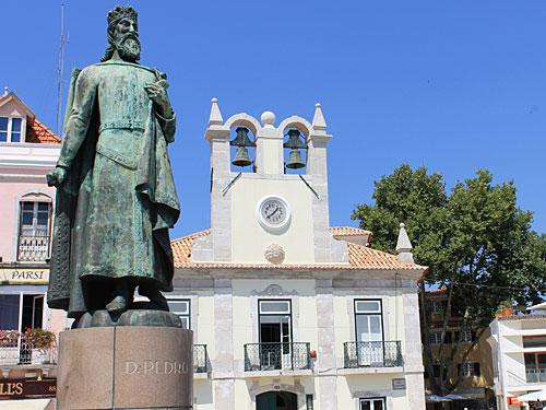 Statue vom Dom Pedro I. (Foto: spe)