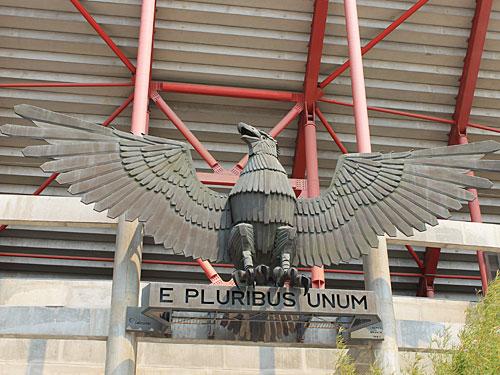 E pluribus unum (Aus mehreren (vielen) eines) ist das Motto des traditionsreichen Vereins. (Foto: spe)